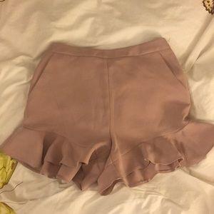 NWT Topshop Ruffle Shorts